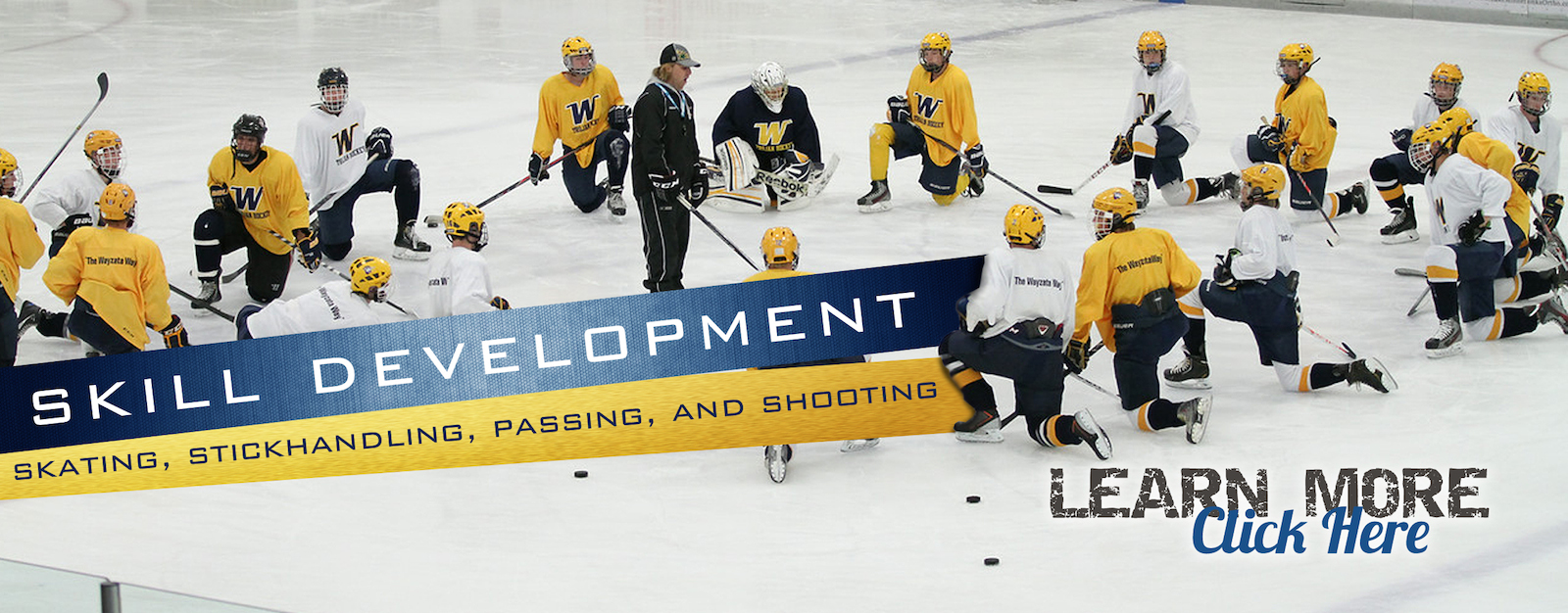 Wayzata Hockey Clinics - Skill Development